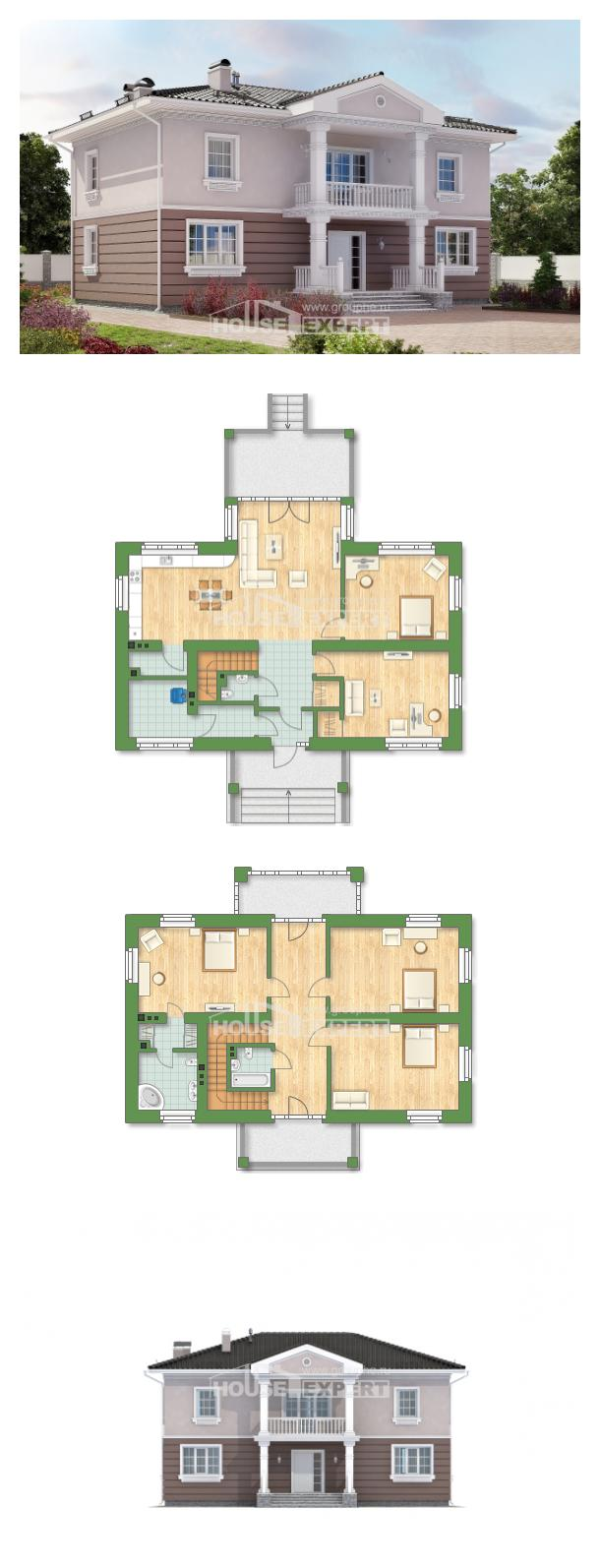 Проект дома 210-005-П   House Expert