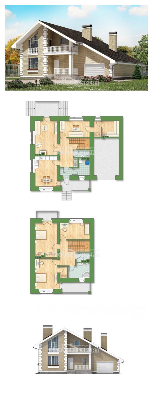 Проект дома 190-005-П | House Expert
