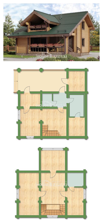 Проект дома 110-005-П | House Expert
